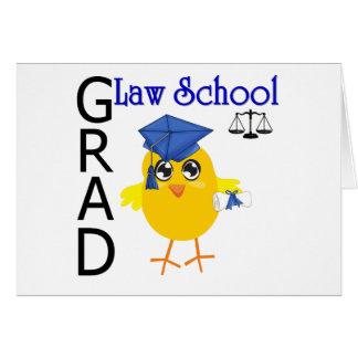 Law School Grad Greeting Cards