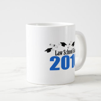 Law School Grad Class Of 2016 Caps (Blue) Large Coffee Mug