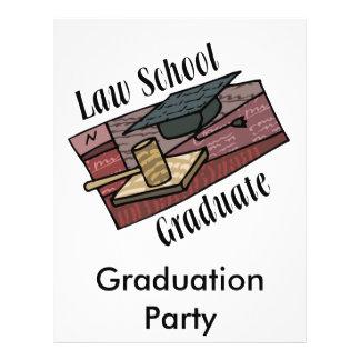 Law School Graduate Custom Flyer