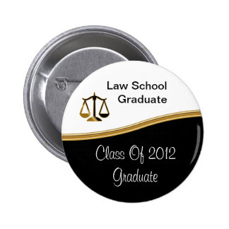 Law School Graduation Buttons