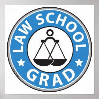 Law School Graduation Poster