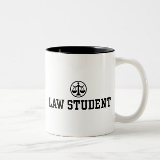 Law Student Two-Tone Coffee Mug