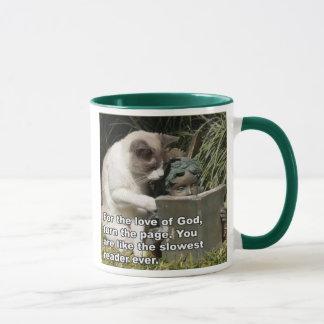 Lawl Kat Statue Mug