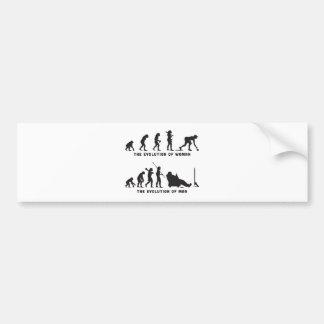 Lawn Bowl Bumper Sticker