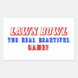 lawn bowl design sticker