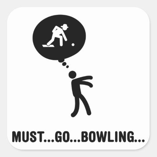Lawn Bowl Sticker