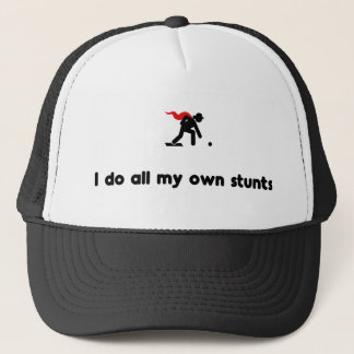 Lawn Bowling Hero Trucker Hat