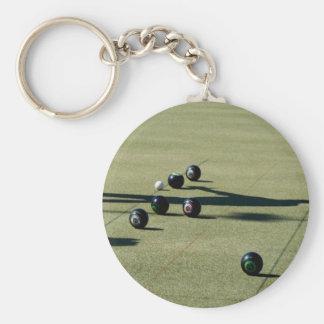 Lawn Bowls Close Call, Key Ring