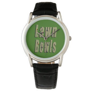 Lawn Bowls Dimensional Logo Mens Classic Watch