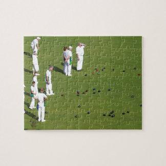 Lawn Bowls England Jigsaw Puzzle