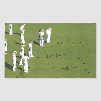 Lawn Bowls England Stickers