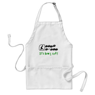 Lawn Bowls -It's How I Roll Apron