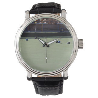 Lawn_Bowls_Kitty,_Mens_Leather_Vintage_Watch. Watches