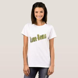Lawn_Bowls_Picture_Logo_Ladies_White_T-Shirt T-Shirt