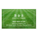Lawn Care Field Grass Business card