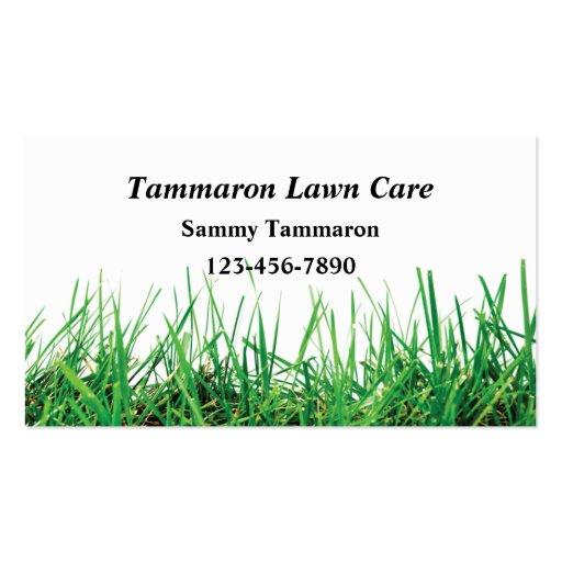 Lawn Care & Landscaper Business Card Template