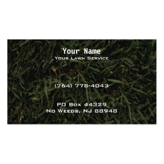 LAWN CARE LANDSCAPING SERVICE BUSINESS CARD