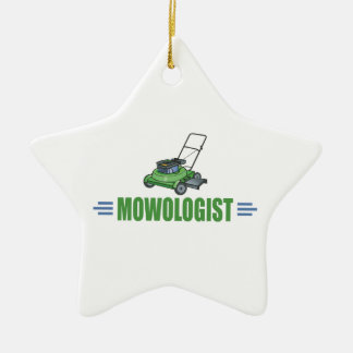 Lawn Care Mowing Grass Lawns Landscaping Yards Ceramic Star Decoration