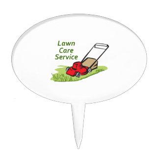 LAWN CARE SERVICE CAKE PICK