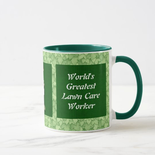 Lawn Care Worker mug