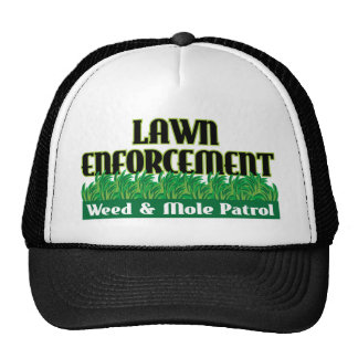 Lawn Enforcement Cap