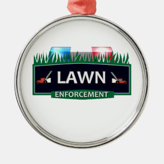 LAWN ENFORCEMENT CHRISTMAS ORNAMENT