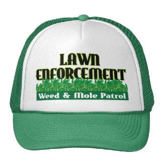 Lawn Enforcement Trucker Hats