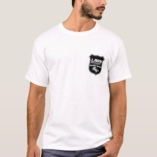 Lawn Enforcement Logo T-Shirt