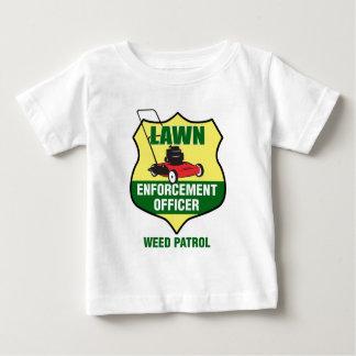 Lawn Enforcement Officer Baby T-Shirt
