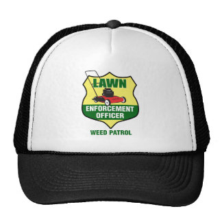 Lawn Enforcement Officer Cap