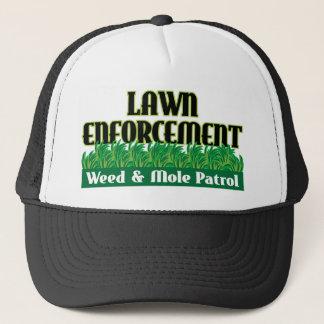 Lawn Enforcement Trucker Hat