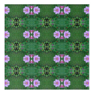 Lawn Flower Dapple crop A Fractal Acrylic Wall Art
