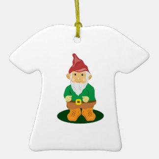 Lawn Gnome Christmas Ornament