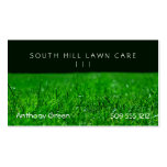 Lawn Grass Pack Of Standard Business Cards