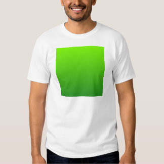 Lawn Green to Forest Green Horizontal Gradient Tshirts