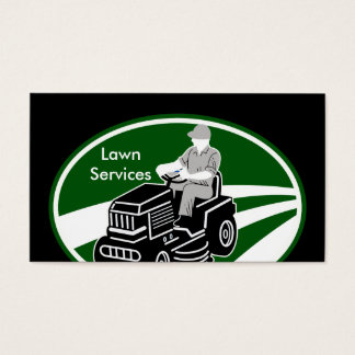 Lawn Landscaping Services Business Card