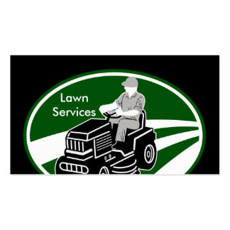 Lawn Landscaping Services Pack Of Standard Business Cards
