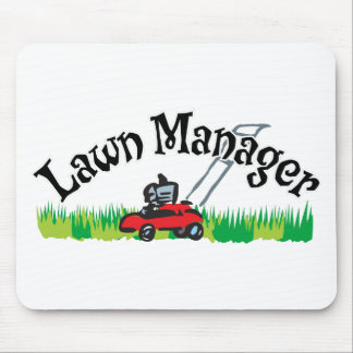 Lawn Mananger Mouse Pads