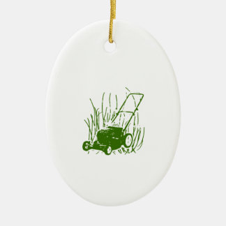 Lawn Mower Christmas Ornament
