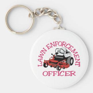 Lawn Officer Key Ring