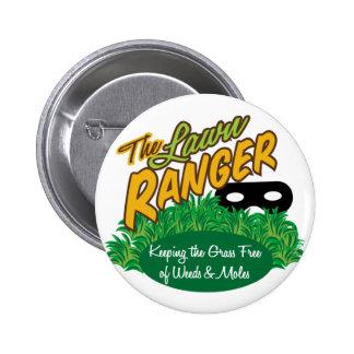 Lawn Ranger 6 Cm Round Badge