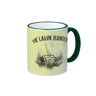 Lawn Ranger Ringer Mug