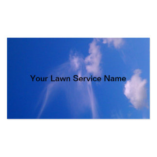 Lawn Service Double-Sided Standard Business Cards (Pack Of 100)