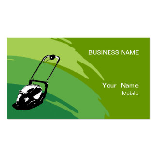 Lawn Services Business Cards