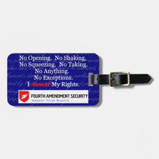 LAWn Sign Luggage Tag3 with Optional Card Slot Luggage Tag