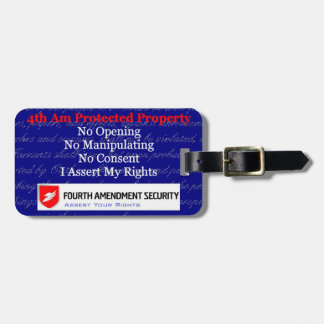 LAWn Sign Luggage Tag4 with Optional Card Slot Luggage Tag