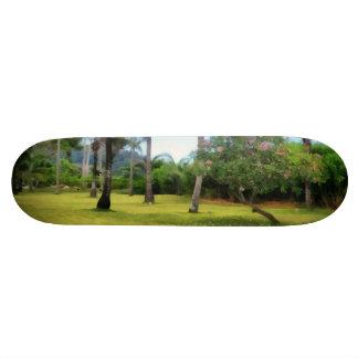 Lawn to play in 18.1 cm old school skateboard deck