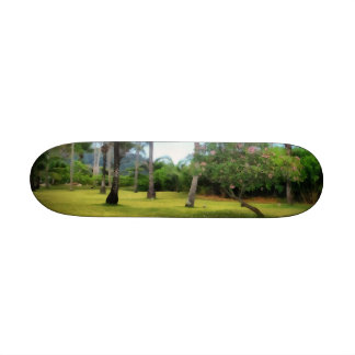 Lawn to play in skate boards