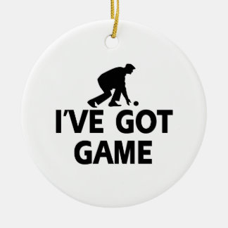 LAWNBOWL.png Christmas Ornament