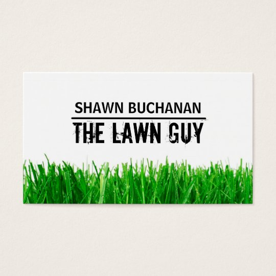 Lawncare Business Card